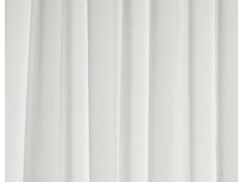 White Sheer Voile Drape