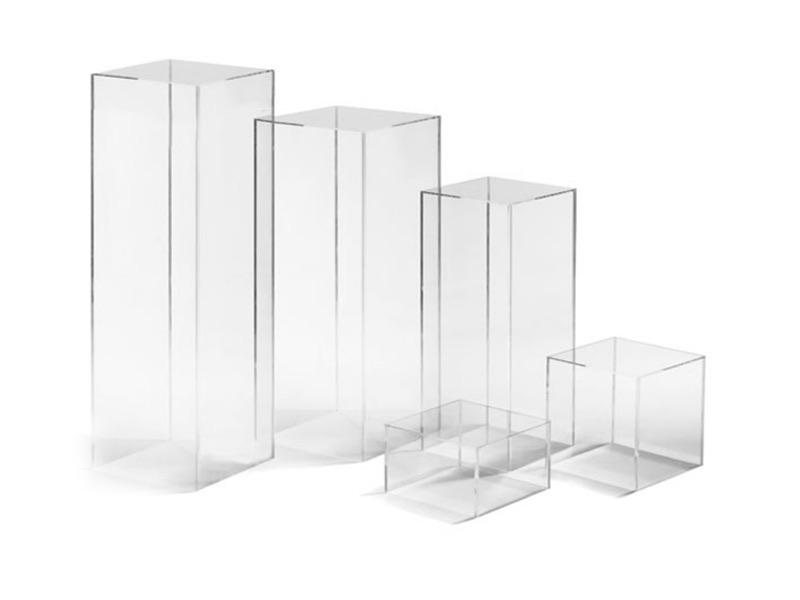 Clear Acrylic Pillar