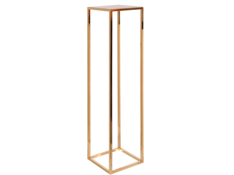 Luxury Gold Pillar Centrepiece