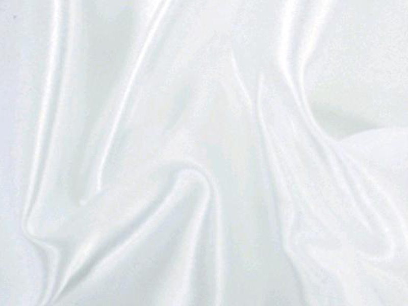 White Lamour Satin Table Cloth
