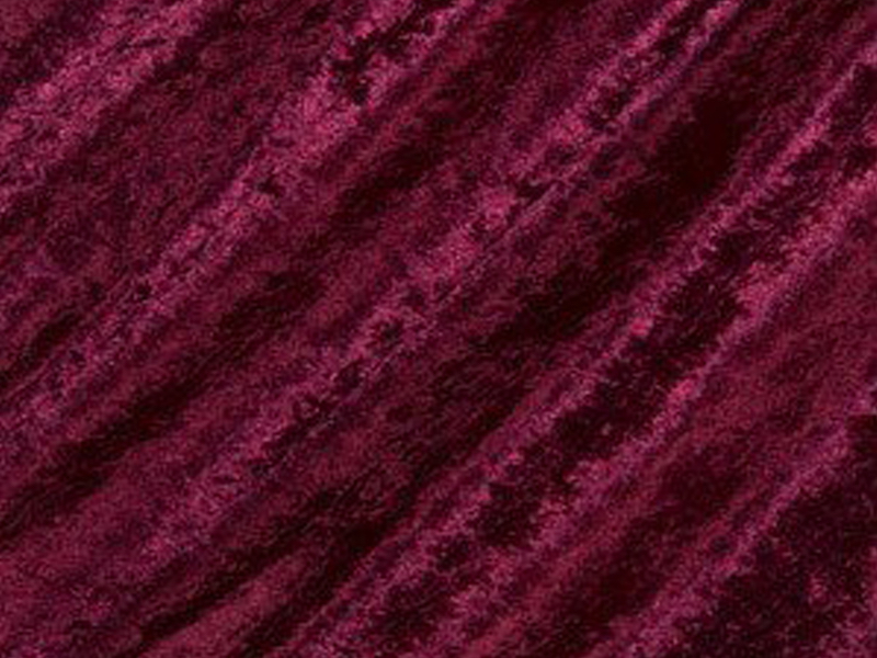 Burgandy Crush Velvet Fabric